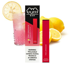 Pink Lemonade PUFF BAR (5% Disposable)