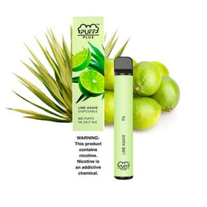 Lime Agave Puff Bar Plus +