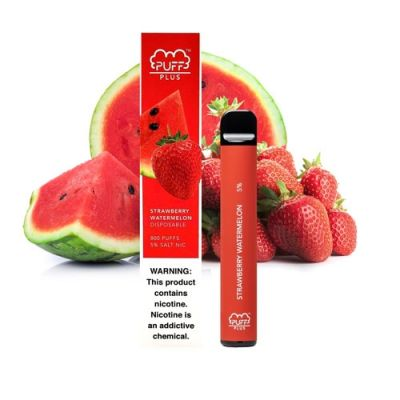 Strawberry Watermelon Puff Bar Plus +