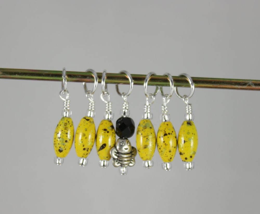Bumblebee Stitch Markers