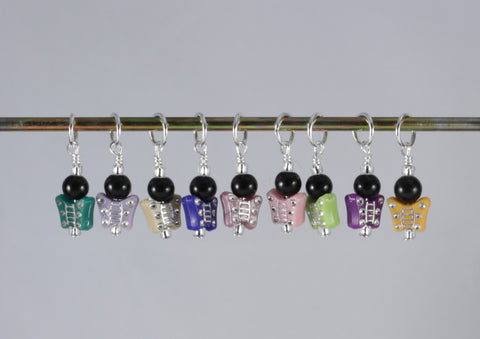 Colorful Butterfly Stitch Marker Set