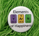 Elements of Happiness Button
