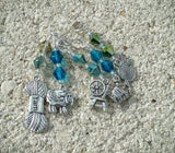 Ocean Mix Wool Lover Stitch Markers