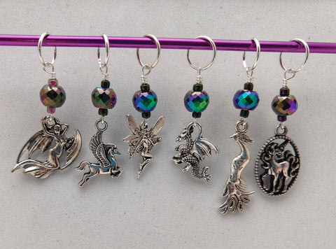 Magical Creatures Stitch Markers