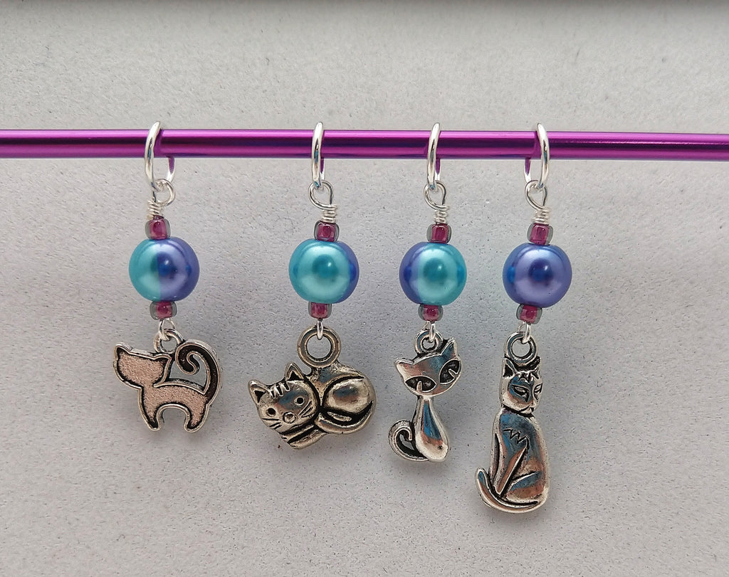 Meow! Stitch Markers