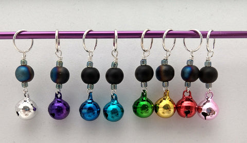 The Bells! Stitch Markers