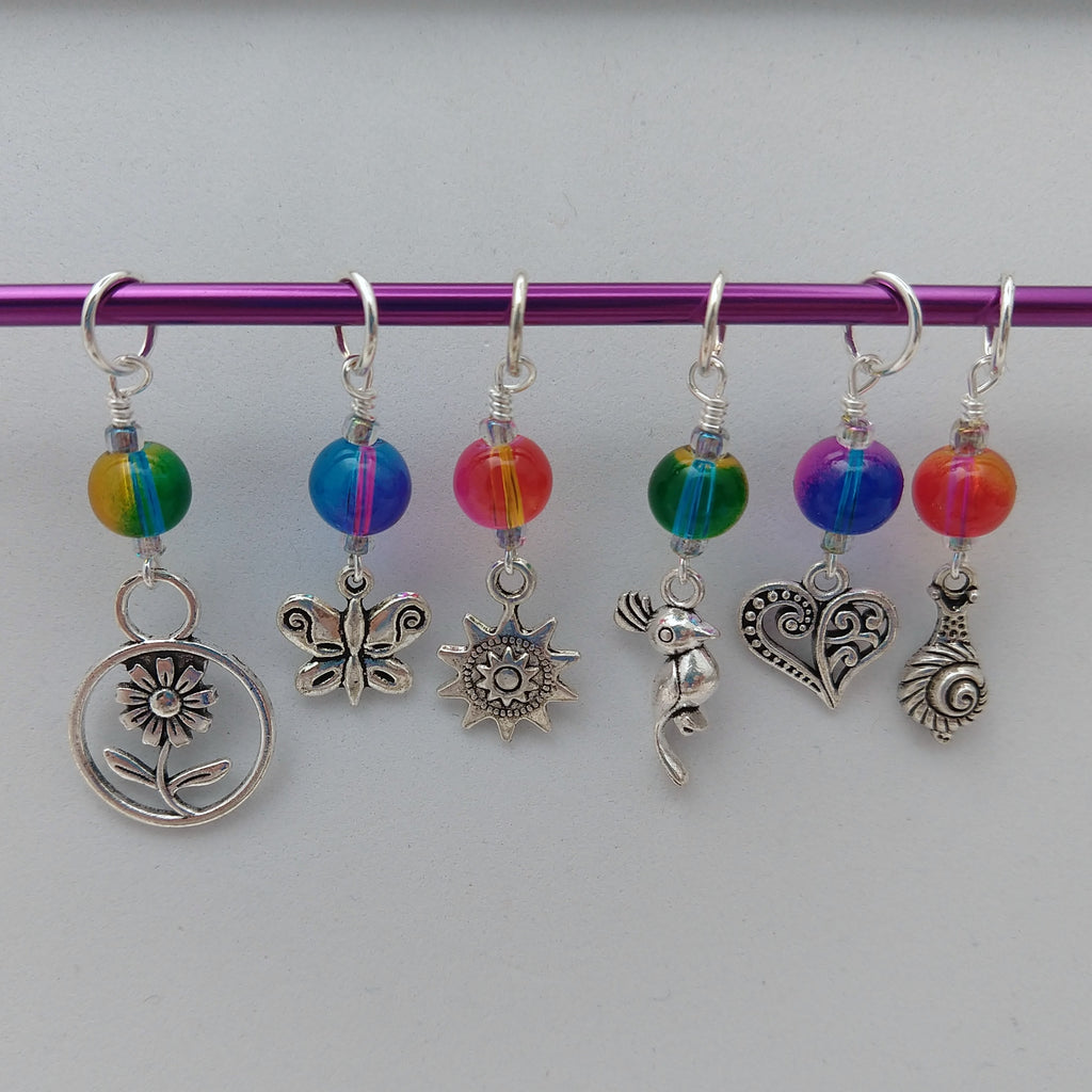 Summer Love Stitch Markers