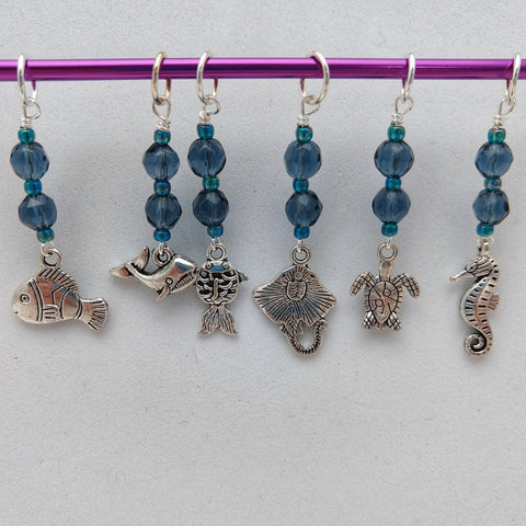 Limited Edition Fish are Friends Stitch Markers