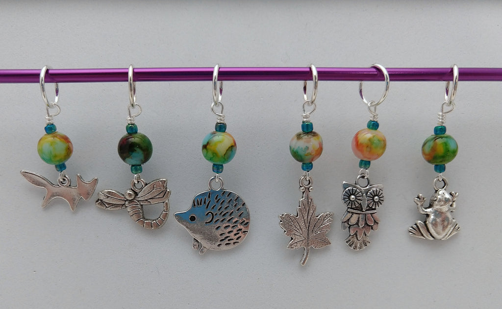 Found in the Forest Stitch Markers