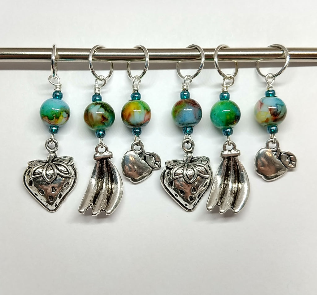 Fruit Salad Stitch Markers