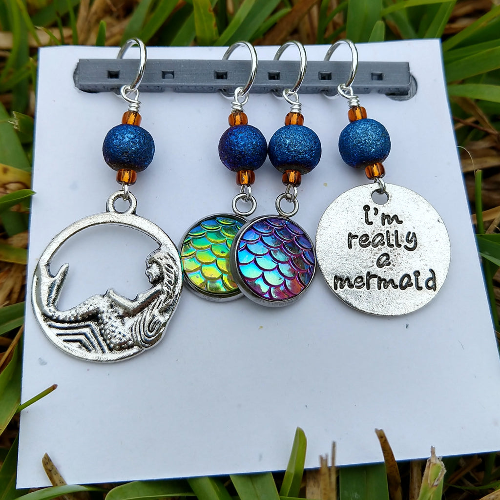 Mermaid Mix Stitch Markers