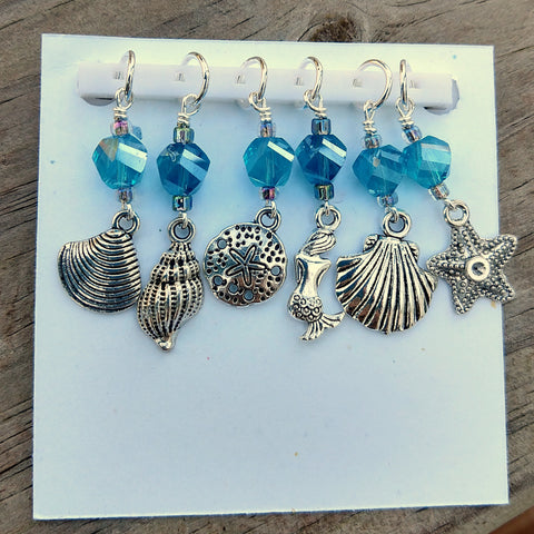 Mermaid Shell Collector Stitch Markers