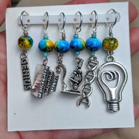 Scientific Method Stitch Markers