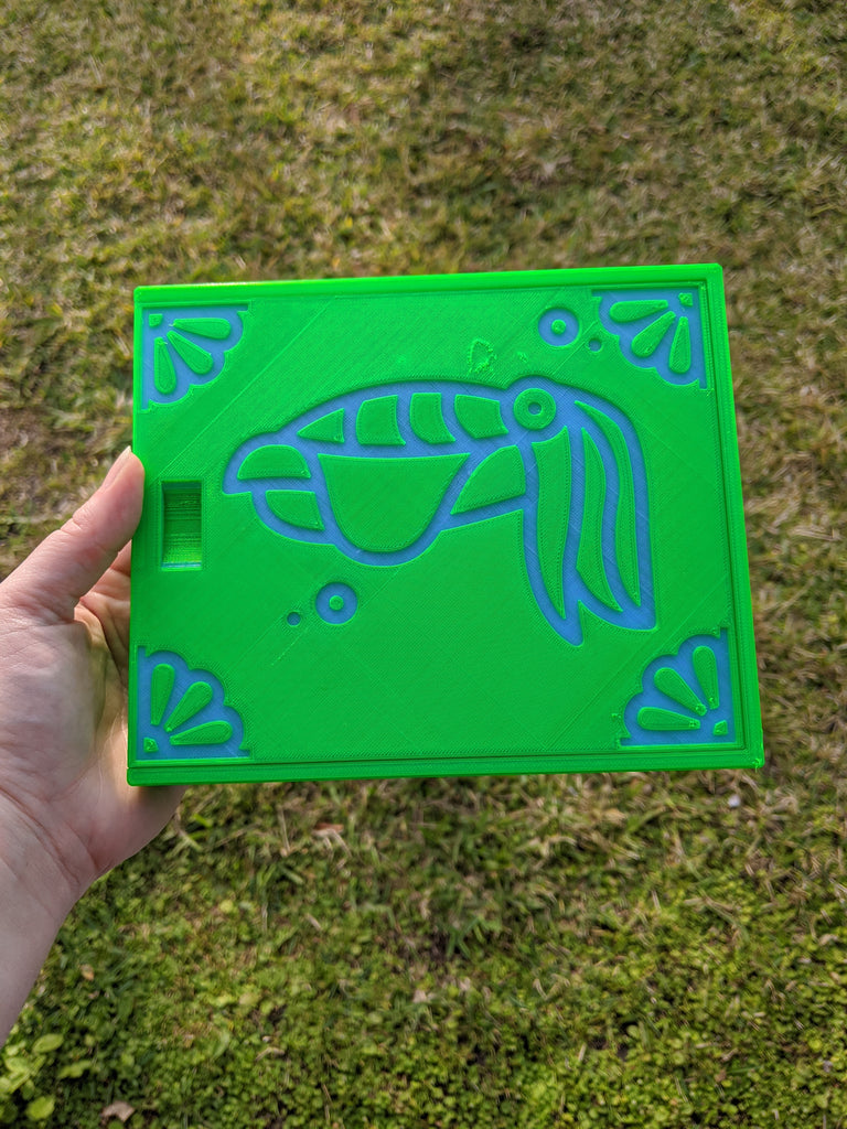 3D printed Notions Box--Cuttlefish Second