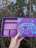 3D printed Notions Box--Cuttlefish