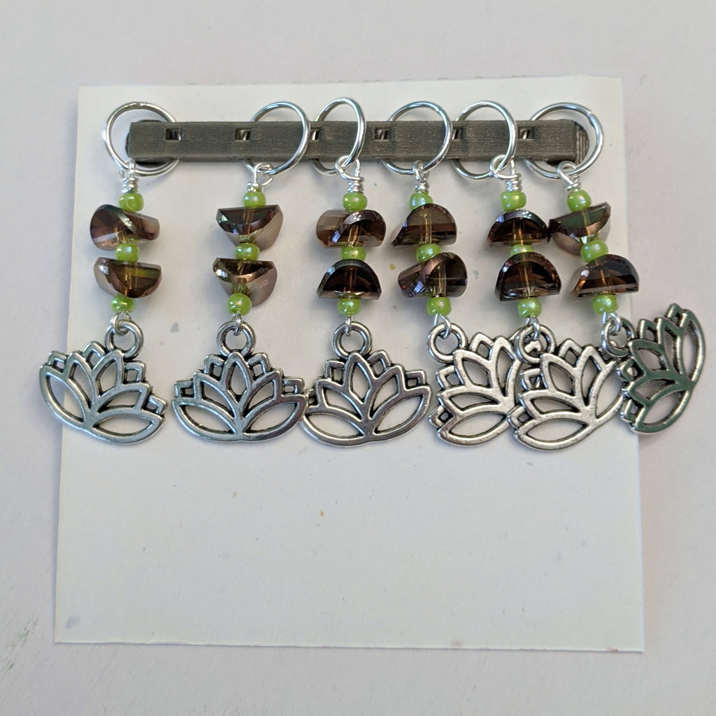 Lotus Stitch Markers