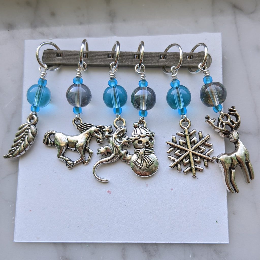 Into the Unknown Stitch Markers