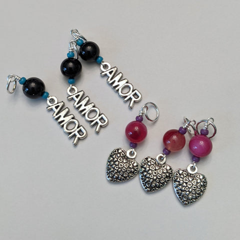 Amor Stitch Markers