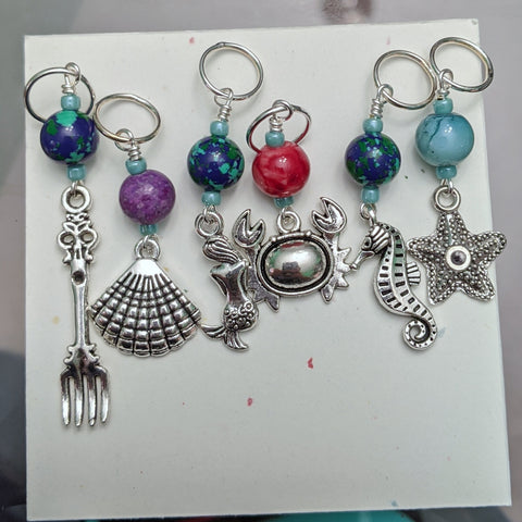 Dinglehopper Stitch Markers (S7)