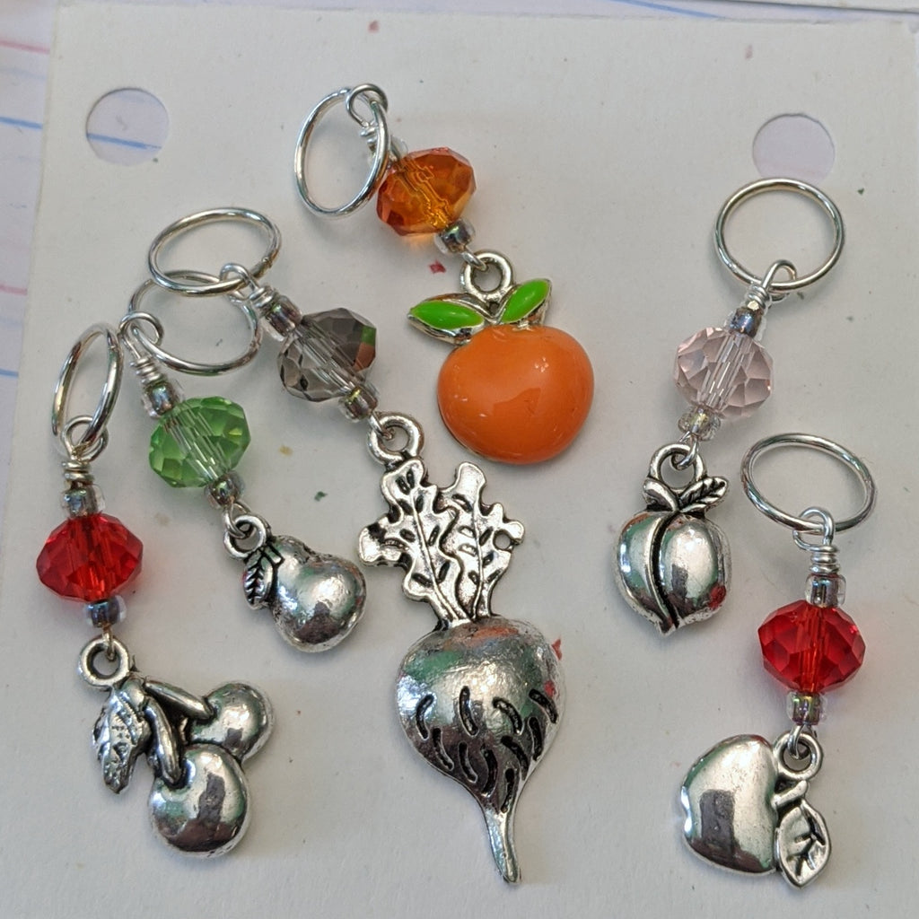 Fruity Island Paradise Stitch Markers (S8)