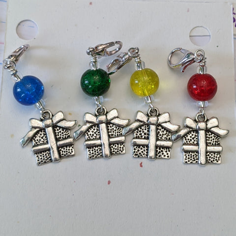 Presents from the Sky Stitch Markers (S10)