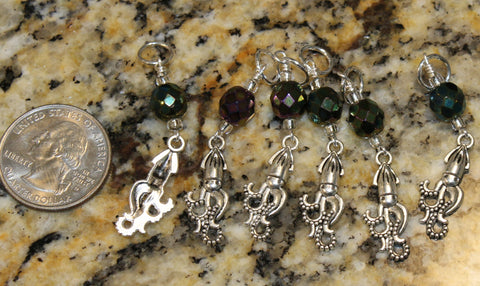 Squid Stitch Marker Set