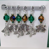 Sets of Holiday Stitch Markers
