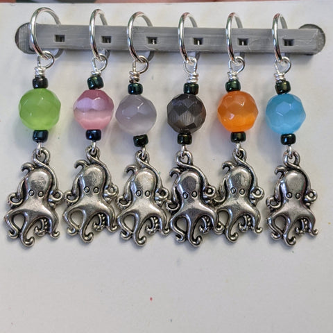 Friendly Octopus Stitch Markers