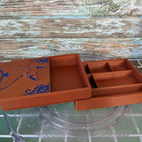 3D printed Storage Box with Dice Tray--Fox