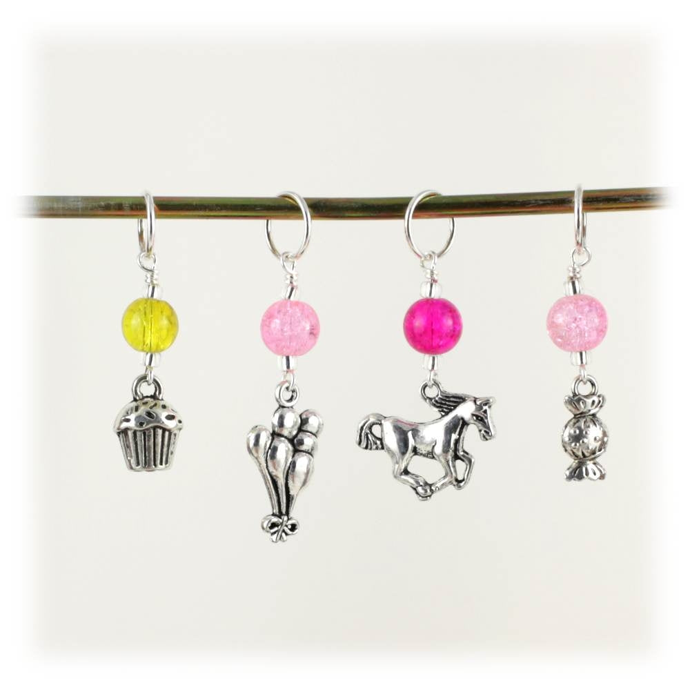 Party Pony Stitch Marker Set
