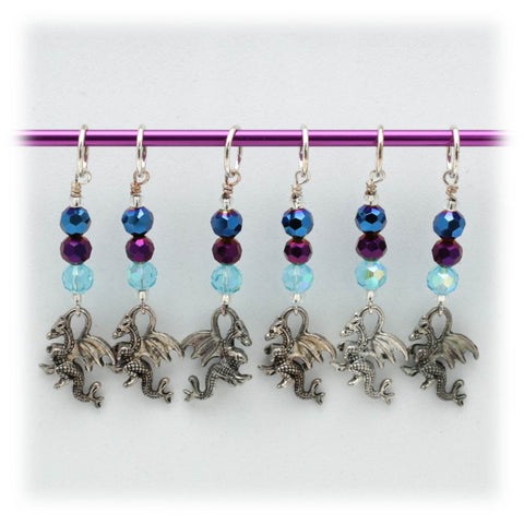 Dragon Stitch Marker Set