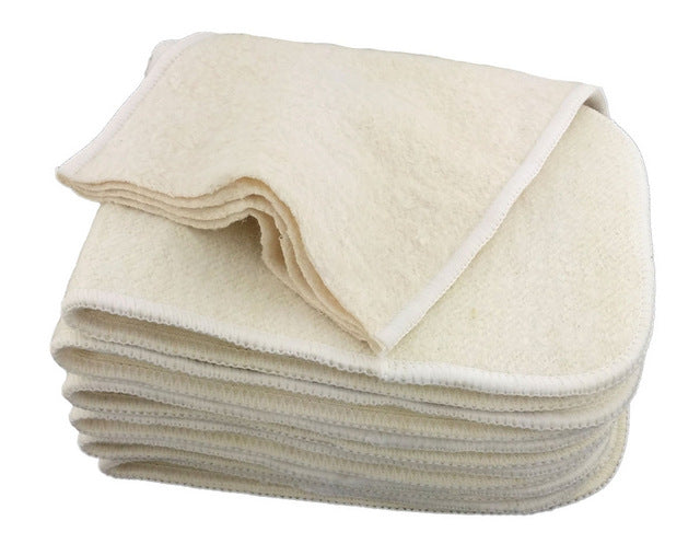 Hemp Cotton  Reusable One Size Fit All Cloth Baby Diaper Insert - NappieSack™ - Baby Bags, Organizers, Clothes, Accessories, Shoes, and More!