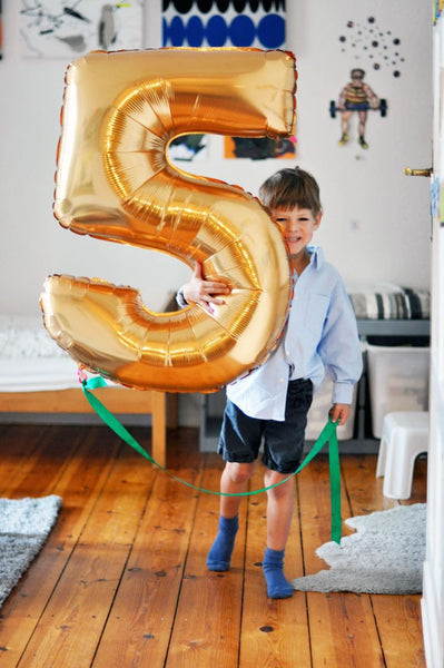 40 inch Gold/Silver Alphabet/Letter Oversize Balloon