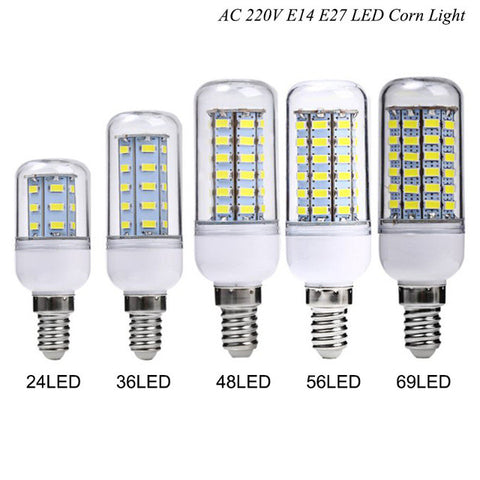 4.5W 110V 6500K/3000K LED Corn Light E27/E14/G9/B22/GU10 with 48 LEDs