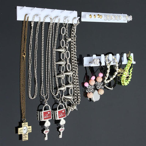 Adhesive Jewelry Wall Mount