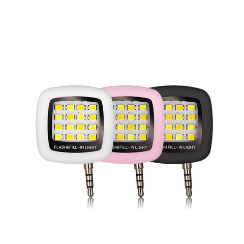 16 LED Sync Flash Lamp for iPhone and Android
