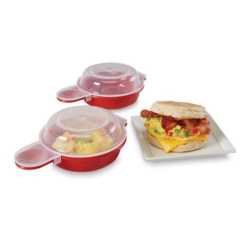2 PCS Microwave Cheese Egg Cooker