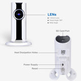 720P Mini IP WIFI Panoramic Camera Mobile Monitor Wireless Indoor CCTV