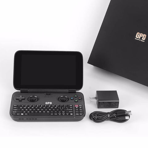 "5.5"" Windows 4GB/64GB Gamepad Tablet PC Handheld Game Console"