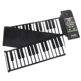 88 Key Electronic Silicon Flexible Roll Up Piano with Loud Speaker