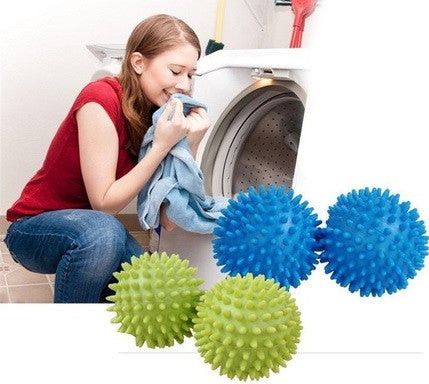 Blue Soften Cloth Drying Washing Laundry Dryer Ball