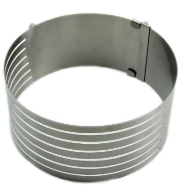 Adjustable Stainless Scalable Cake Ring Layer Slicer Cutter Mold