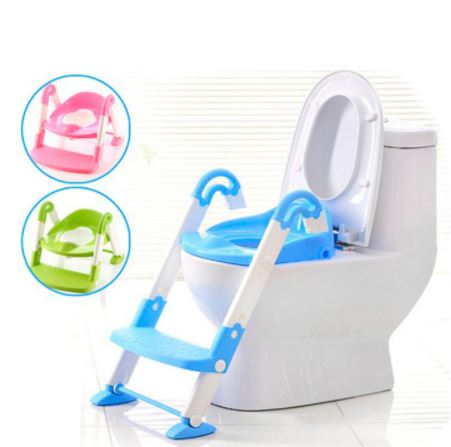 3-in-1 Portable Ladder Training Potty Chair for Children/ Babies