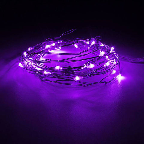 AA Battery Powered 10m Multicolor Mini LED Copper Wire String Fairy Lights