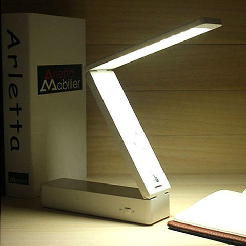 30 LED Foldable Rechargeable Desk Table Lamp