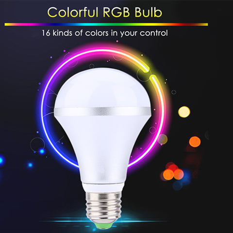 16 Colors Changing Smart LED Light with Remote Control