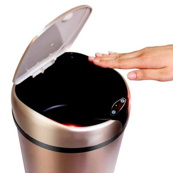 6L 8L Automatic Smart Touchless Sensor Trash Can