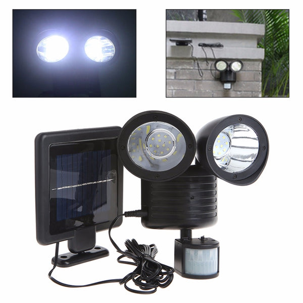 22 LED Motion Sensor Solar Power Floodlight
