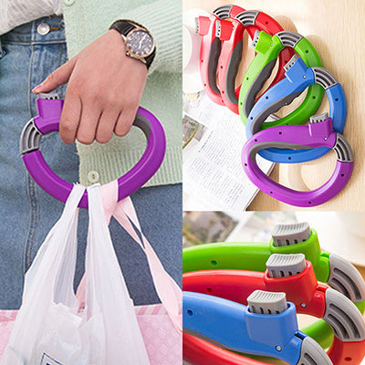 Creative Relaxed Carry Food Handle Shopping Bag Help Tool