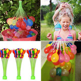 111pcs Magic Water Balloons with 3 Bunches